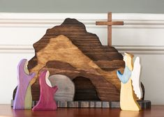 Empty Tomb, Resurrection Day, Holy Week, Easter Crafts, Easter Decor, Easter Banner, Easter Projects, Easter Table, Christ