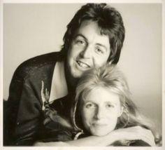 Paul McCartney and Linda Eastman-McCartney (Wings time!)