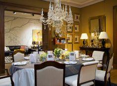 Montaje de #mesa por Casa Palacio, para el #Restaurante Alfredo Di Roma.