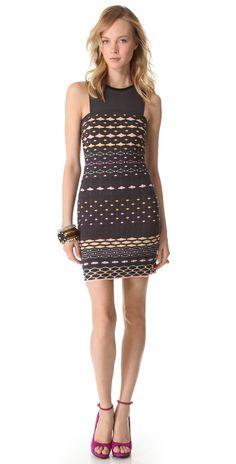 M Missoni Diamond Stripe Shift Dress   SHOPBOP