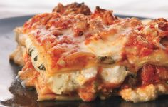 Turkey Sausage Lasagna Cindy Review - used zucchini (sliced w/mandolin) for noodles and canned sauce...loved it.