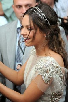 Cadenas para adornar el pelo de las novias.