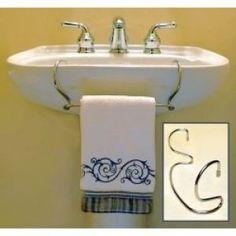 1000 Images About Pedestal Sinks On Pinterest Pedestal Sink Towel Racks And Bathroom Wall