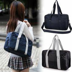 9ba709962c4a Japanese School Uniform Bag JK Cosplay Student Crossbody Shoulder Bags  Handbag Bag JK Uniform