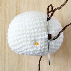 How to add eyes, nose and whiskers to amigurumi face. Helpful crochet tutorial