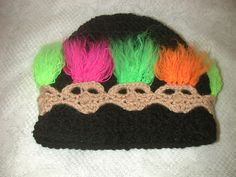 Ravelry: Troll Beanie and Head Warmer pattern by Spider Mambo