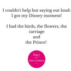 Diary of My Inner Goddess #domig #diaryofmyinnergoddess  #disney #moment