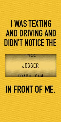 """Distracted Driving Posters 