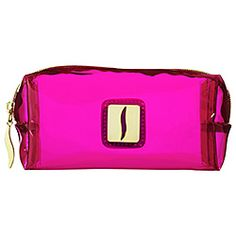 What it is:A collection of makeup bags drenched in shiny neon pink.What it does:Brighten up your makeup collection with this set of bags boasting a vibrantly pretty hue. The various sizes are great for organizing and storing all your beauty essentials and they're small enough for travel. The multiple translucent shapes will make finding what you need a breeze. #sephoracolorwash