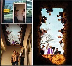 A smoking room with a strong message