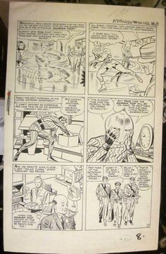 JACK KIRBY & STEVE DITKO Original Comic Art SilverAge TALES TO ASTONISH #50 Pg 6