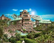 Tower of Poseidon Water Slides | Aquaventure Waterpark | Atlantis Dubai