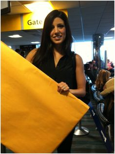 Danielle Lam travelling with the PCH Big Check