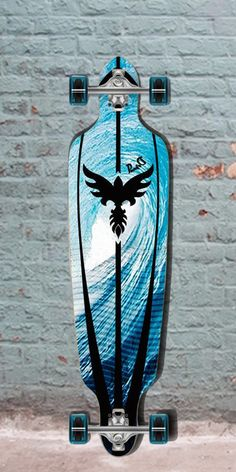 """Longboards USA - Punked Pipeline Drop Through 40"""" Longboard - Complete, $105.00 (http://longboardsusa.com/longboards/longboards-for-beginners/punked-pipeline-drop-through-40-longboard-complete/)"""