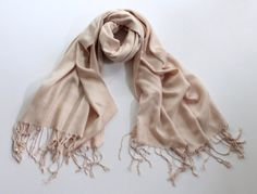 blush pink pashmina scarf pearl pink pashmina shawl by FashPash