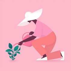 Illustrations by Deanna Halsall | Inspiration Grid | Design Inspiration