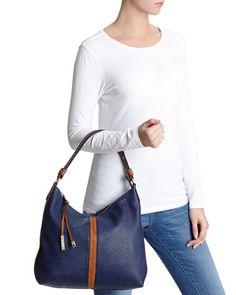 NAVY Slouch Panel Shoulder Bag   Dunnes Stores €35