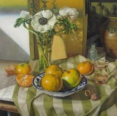"OCTOBER, Oil on Panel, 16 x 16"" -  SOLD  Jeffrey Ripple"