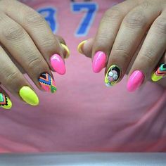 Nancy nail art boho style