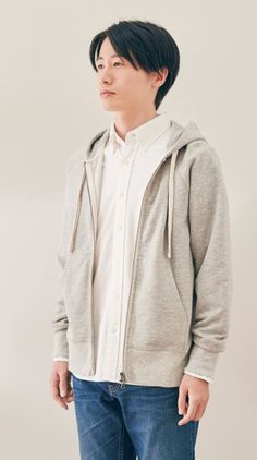 MUJI offers a wide variety of good quality items from stationery to household items and apparel. Muji, Household Items, Stretch Denim, Organic Cotton, Cotton Fabric, Feels, Hoodie, Slim, Zipper