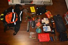 Volunteer #SAR Search-and-Rescue #EDC bag dump