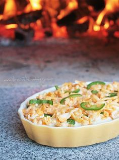 jalapeno popper cauliflower casserole low carb and gluten free / #lowcarb ♥ shared via https://facebook.com/lowcarbzen