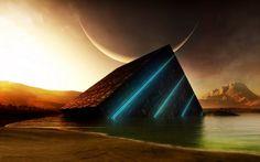 3D Pyramid | http://bestwallpaperhd.com/3d-pyramid.html