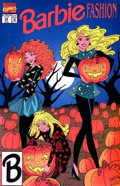 Vintage Halloween Barbie Comic Fashion Book No 24 Halloween Barbie Vintage Barbie Comic Fashion Book No 24 Halloween By Abarbiegal 14 95 Barbie Halloween, Halloween Vintage, Halloween Labels, Vintage Witch, Posters Disney Vintage, Vintage Cartoon, Vintage Comics, Cartoon Posters, Cartoons