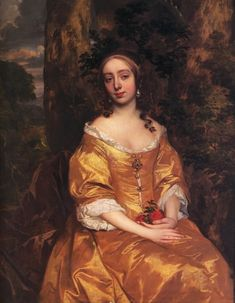 Elisabeth Butler, née Stanhope Countess of Chesterfield by Sir Peter Lely (location unknown to gogm) | Grand Ladies | gogm