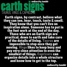 Earth Signs.... ~D~