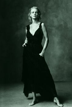 Uma Thurman photographed by Annie Leibovitz.