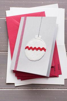 La Gata Con Botas: Cómo hacer tarjetas de Navidad / How to make Christmas Cards
