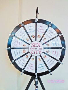 sex and the city bridal shower game!