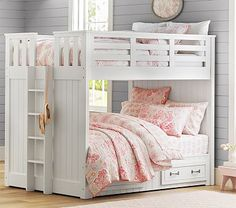 Full Over Full Bunk Bed....how perfect would this be for our 4 kiddos to share?!