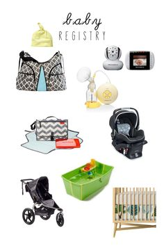 baby registry | what to register for \ melissatomeoni.com
