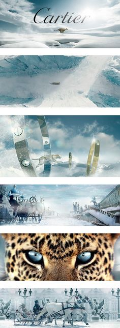 "Art direction and design ""L'Odyssée de Cartier"" commercial, directed by Bruno AVEILLAN."