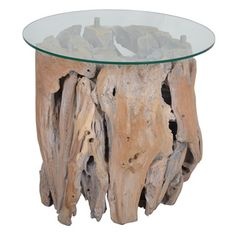 Natura Abstract Side Table