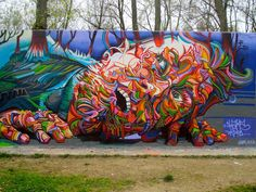 Sam Woolfe: Shaka (Marchal Mithouard): Psychedelic Graffiti Ar...