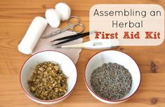 Do you have an herbal first aid kit? Here is an overview of a beginners/basic kit to get you started.