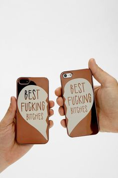 Besties iPhone 5/5s Case - Set Of 2 @Kristal Hope Upgrade your phone so we can get these. x