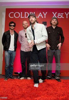 Guy Berryman, Jon Buckland, Will Champion and Chris Martin of Coldplay