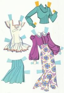 70s Barbie* 1500 free paper dolls at Arielle Gabriel's International Paper Doll Society for Pinterest paper doll pals *