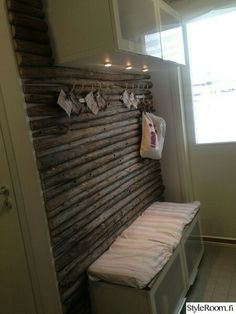 Dc Fix, Sauna Design, Relaxing Places, Mudroom, Interior Decorating, Lounge, Cottage, Rustic, Wood