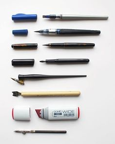 'How To Get Started in Calligraphy   Many hundreds of people have been asking me questions about what pens I use and how to get started in Calligraphy over the last few days.