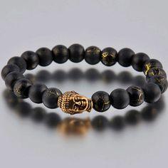 Buddha Bracelet Goldtone now featured on Fab.