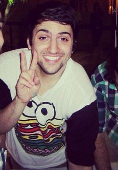 Mitch Grassi. AKA The cutest person on God's green earth. Like... I just wanna pinch his widdle cheeks or something <3