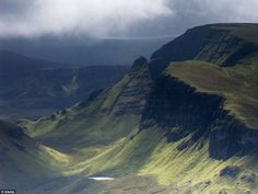 Moody and spectacular: Views of The Quiraing and Trotternish peninsula on the Isle of Skye