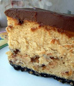 """Recipe   Chocolate Chip Cheesecake... """"This is the best cheesecake. Used dark chocolate for crust, dessert was awesome""""~Joyce"""