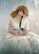 Portrait of Raquel Meller (1888-1962) - Joaquin Sorolla y Bastida - www.joaquin-sorolla-y-bastida.org