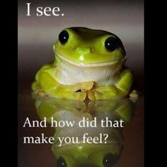 hahaha i love this frog